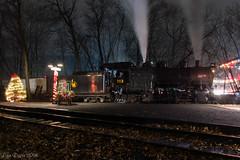The After Party (Dan A. Davis) Tags: cnj113 cnj centralrailroadofnewjersey project113 steamlocomotive steamengine 060 railroad locomotive train minersville pa pennsylvania