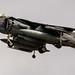 Hovering AV-8B Harrier in Widescreen