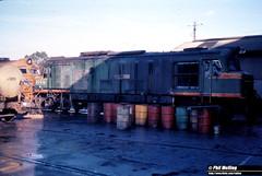 3806 XB1020 Narrogin Loco Depot 19 June 1983 (RailWA) Tags: railwa philmelling westrail 1983 narrogin loco xb1020