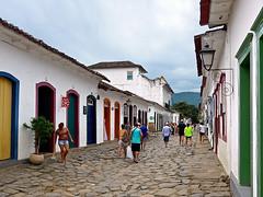 photo - Paraty, Brazil (Jassy-50) Tags: photo paraty brazil colorful colorfularchitecture door window hccity street