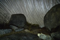 Between Rocks and a hard place (Steve Paxton WA) Tags: rocks stars startrails lowlevellighting lowlight westernaustralia longexposure nightshots nightsky