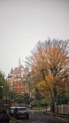 Autumn morn on Mt Vernon (marc.barrot) Tags: architecture building landscape urban uk nw3 london hampstead mountvernon shotoniphone