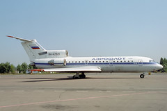 RA-42321 Yakovlev Yak-42 Aeroflot (pslg05896) Tags: bka uubb bykovo moscow ra42321 yakovlev yak42 aeroflot