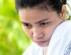 down (Collin Key) Tags: saronde gorontalo portrait girl highkey indonesia melancholy sulawesi kwandang indonesien id