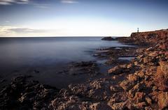 Hasta el Faro (candi...) Tags: faro rocas costa mar agua airelibre lametllademar cielo naturaleza nature sonya77