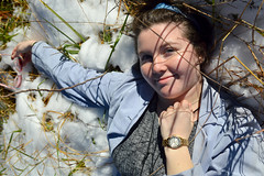 An angel in the snow (radargeek) Tags: snow photoshoot model modeling sunglasses portrait mustang oklahoma rachel january 2019 watch