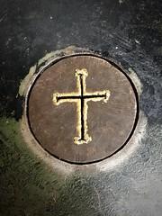 20181114  Metalwork at the Chapel of the Holy Cross. (lamarstyle) Tags: lamarstyle 2018 iphone6s cross chapeloftheholycross sedonaarizona