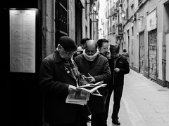 Street  Barcelona (Sayman K) Tags: barcelona 2018 street sony a6300 socialclasses bw bnw blackandwhite streetphotography spain