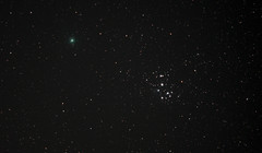 M45 and 46P (Alun_ H) Tags: qhy 46p comet stars m45 canon