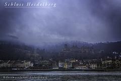 Schloss Heidelberg (Fotomanufaktur.lb) Tags: kurpfalz schloss ruine heidelberg schölkopf schoelkopf canon nebel winter neckar