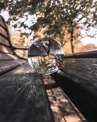 Iphone Shots (Daniel.Greenan) Tags: belfast photography street photograpy iphone glass ball reflection