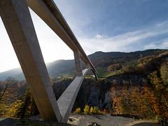 Tamina Bridge (spline_splinson) Tags: alpen alps pfaefers switzerland tamina badragaz bridge heidiland mountains pizol ragaz schweiz suicia suisse swiss taminatal valens valleybridge viaduct pfäfers kantonstgallen ch