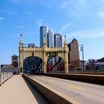 Pittsburgh Pennsylvania   -  The Smithfield Street Bridge  1883  - Historic NRHP thumbnail
