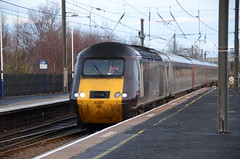 43301 at Morpeth (stephen.lewins (1,000 000 UP !)) Tags: crosscountry northumberland morpeth railways ecml hst class43 43301