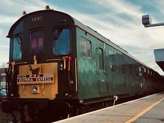 Hastings Diesels Limited 1001 Sitting At Beckenham Junction 22/12/18 (jakegill134) Tags: headboard filter trainstation station train demu brgreen 1001 class202 thumper br