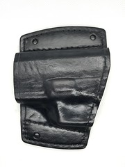 Springfield XD Car Holster Front (americanleathersmith) Tags: carholster leatherholster gunholster concealcarry holster mounted leather