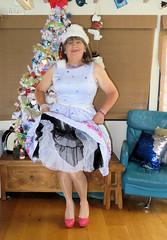 Frilly (Trixy Deans) Tags: crossdresser cute cd crossdressing classy cocktaildress classic corset crossdreeser xdresser sexy sexyheels sexytransvestite sexylegs shemale shortdress frilly frills hot heels highheels legs