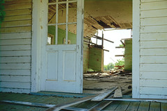(farenough) Tags: abandoned georgia south southern church rural rurex history decay forgotten explore wander dirt road tornado piano haint blue fam collapse historic