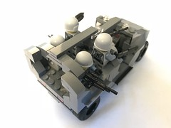 Warthog transport rear (dreki.bryni) Tags: afol halo moc lego