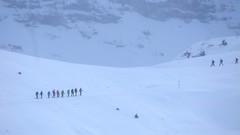 Swiss Crossing (K M V) Tags: 169 risteys snow winter white landscape snowshoeing sports wintersports crossing encounter talvi talviurheilu lumikenkäily lumi lunta vuoret luminenmaisema lumihanki schnee schneeschuhlaufen weiss landschaft snö landskap vinter snöskor raquettesdeneige lhiver neige nieve neve bianco invierno inverno switzerland schweiz suisse svizzera sveitsi