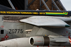 RAF Panavia Tornado GR4 ZG775 (Vortex Photography - Duncan Monk) Tags: raf royal air force panavia tornado gr4 zg775 9 squadron jet aircraft military aviation farewell has site marham