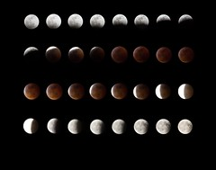 Eclispe condensado@2x (rosamariavidal) Tags: eclipse moon bloodmoon ecpliselunar skynight night