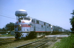 CB&Q E7 9921B (Chuck Zeiler52) Tags: cbq e7 9921b burlington railroad emd locomotive naperville train chuckzeiler chz