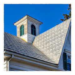 Cupola on a Hot Tin Roof (Timothy Valentine) Tags: 2018 fbpost large cupola sky roof 1218 hrsw eastbridgewater massachusetts unitedstates us