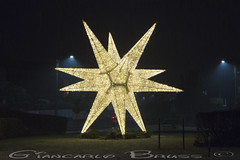 The star (Giancarlo Bruss) Tags: natale luci luminarie street notte night notturne candle candele 2018 christmas stella star