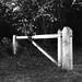 Pirbright cricket club gate