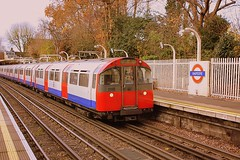 Overground on the Underground (Chris Baines) Tags: piccadilly line 1973 stock eastcote uxbridge cockforsters service
