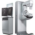 乳がん検査用デジタルX線撮影装置の写真