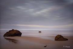 Bajando la marea (T. Dosuna) Tags: 20181220 atardeceres playagerra sanvicentedelabarquera mareasbajas fotografíadepaisaje landscape cantabria españa spain tdosuna nikon d7100