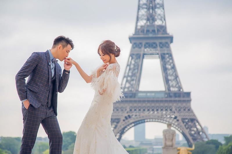 """""""巴黎婚紗,巴黎婚紗相,海外婚紗,婚紗攝影,蜜月婚紗,法國巴黎,巴黎鐵塔"""""""