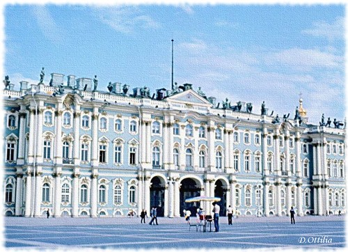 Russia - St. Petersburg - The Winter Palace - Hermitage Museum