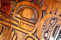 VERY BEAUTIFUL RELIEFS,   WESTCOAST NATIVE ART.   VANCOUVER AIRPORT. BC. (vermillion$baby) Tags: nativeart art carvng color firstnations red relief westcoast wood artsculpture native pacificnorthwest artofnorthamerica artofnativenorthamerica museum carving sculpture woodcarving museums artofthenative nativeamerican indian gallery aborigine