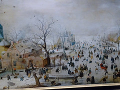 Winter landscape with ice skaters / Hendrick Avercamp (Beyond the grave) Tags: art winterlandscapewithiceskaters avercamphendrick hendrickavercamp painting rijksmuseum amsterdam netherlands holland