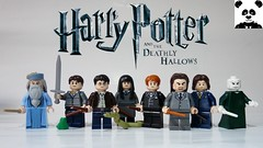 Harry Potter and the Deathly Hallows (HaphazardPanda) Tags: lego figs fig figures figure minifigs minifig minifigures minifigure purist purists character characters films film movie movies tv hunley benji dumbledore trevor frog neville longbottom harry potter nagini cho chang percy weasley pius thicknesse rufus scrimgeour lord voldemort deathly hallows ron hermione granger wizarding world hogwarts the battle of death eater order phoenix albus wulfric brian percival