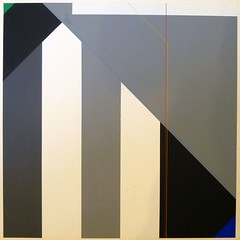 KONSTRUKTION G1  1985 (HolgerArt) Tags: konstruktivismus gemälde kunst art acryl painting malerei farben abstrakt modern grafisch konstruktiv