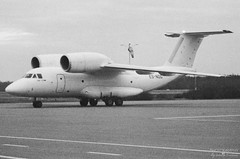 ES-NOG Enimex Antonov An-72-100, EFPO, Finland (Sebastian Viinikainen.) Tags: esnog enimex an72 antonov cargo efpo finland film scanned blacknwhite