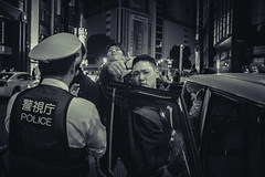 Busted (downtownseoul) Tags: japan streetphotography halloween tokyo police decisivemoment happyplanet asiafavorites