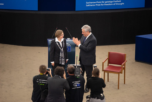 "Sakharov Prize ceremony: ""Oleg Sentsov is a fighter by nature"""