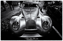 Morgan Aeromax (Seb BAUDIN) Tags: nikon d7000 noir et blanc black white monochrome morbihan bretagne brittany breizh ouest motors festival 2018 sébastien baudin