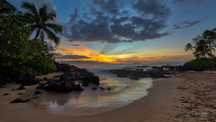 Beach Beauty (lsten) Tags: beforesunset autumn secretcovebeach goldenhour mystical bracketing hawaii bracketed makenaalanui beach amateurphotography hidden stunning sky cove landscape panorama 12mm maui green majestical gravel sunset nature pacificrainforest sea hdr palm tree landscapephotography golden pacific f8 view usa water jungle viewingpoint sand cliffs scenery amazing iso100 laowa12mmf28zerod tripod magnificent trees shore paradise theunforgettablepictures travelphotography colorful merged beautiful ocean hotweather iconic natureview colors seascape naturephotography clouds kihei canoneos5dmarkiv