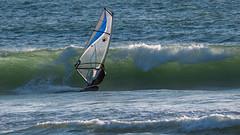 Windsurfer (Old as you feel, Fujinite) Tags: windsurfer wave california water ocean fuji fujinon fujifilm xt3 100400 outdoor nature sufring curl landscape