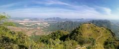 Mount Zwegabin, Hpa An, Myanmar (goneforawander) Tags: hpaan backpacking scenery d7100 travel asia stitched goneforawander photomerge myanmar panorama nikon pano enzedonline kayinstate myanmarburma mm