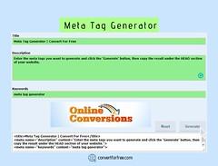 META TAGS AND META TAG GENERATOR (advancedmetataggenerator) Tags: google meta tag generator for blogger advanced online free googlebot