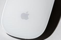 White on white (sniggie) Tags: apple macintosh macromondays whiteonwhite whiteonwhitebackground macrophotography mouse paper whitebackground whitesubject colorphotography