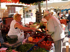 Bergerac market 1_0714 (hoffman) Tags: ec europe bergerac france market selling tomato fruit stall female woman lady old age seniorcitizen shopping beans vegetables scales basket outdoors daylight dordogne produce natural freshness healthy healthiness nutritional nutritious nutritive wholesome healthful beneficial nourishing nutrimental comestible succulent tasty edible davidhoffman wwwhoffmanphotoscom