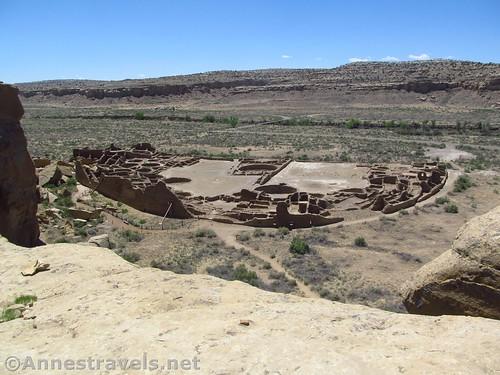 Pueblo Bonito from above